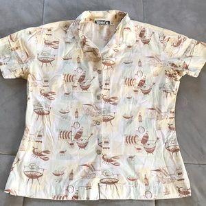 Beer & BBQ Hawaiian Shirt